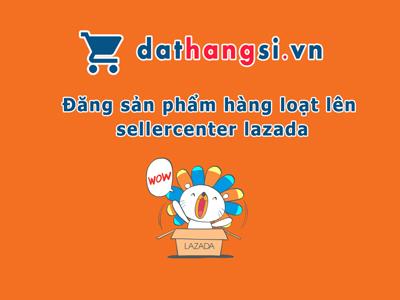Đăng sản phẩm hàng loạt lên Lazada từ website Dathangsi.vn