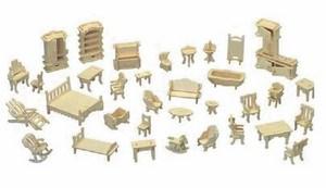 Mô hình lắp ghép gỗ 3D