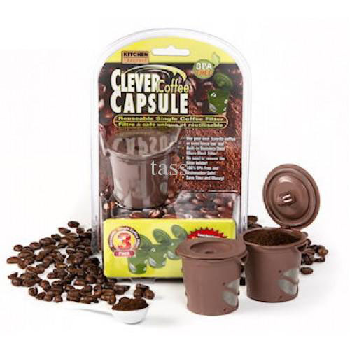 Bộ 3 lọc pha cafe clever capsule
