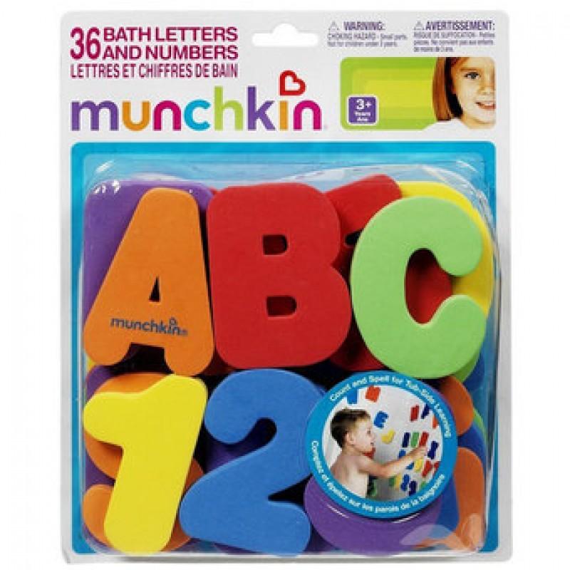 Bộ chữ số xốp Munchkin