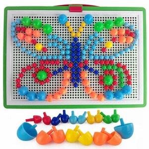 Bộ đồ chơi ghép hạt nhựa Creative Mosaic