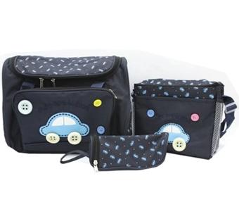 Bộ 3 túi xách cho mẹ và bé hình ôtô