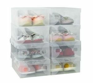 Hộp đựng giày trong suốt(5 hộp)