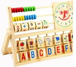 Bảng tính đồng bằng gỗ cho bé Woodtoys