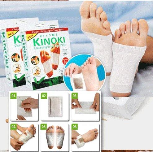 Miếng dán chân giải độc Kinoki