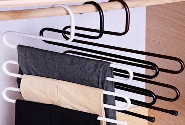Móc treo quần áo 5 tầng thông minh
