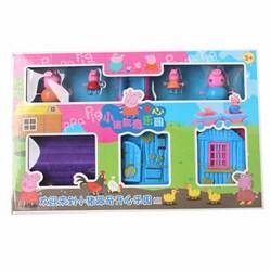 Bộ đồ chơi Peppa Pig ngôi nhà