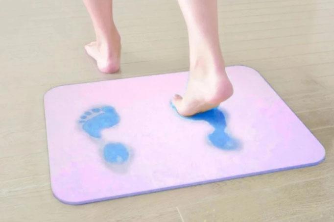 Thảm cứng siêu thấm hút nước công nghệ Nhật Bản 60x39x0.9cm