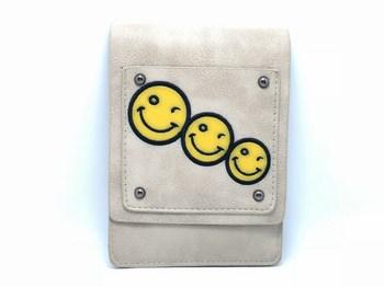 Túi xách đeo chéo 3 mặt cuời 456