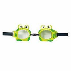 Kính bơi hình thú cho bé Intex 55603 hình ếch ( Xanh )