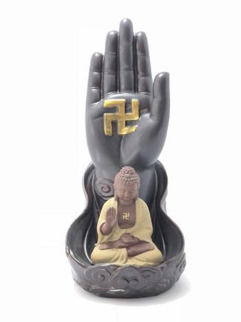 Thác Khói Trầm Hương Phật Thủ Như Lai