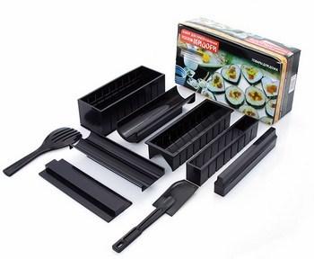 Bộ Dụng Cụ Làm Sushi 10 Món Chế Biến Món Sushi