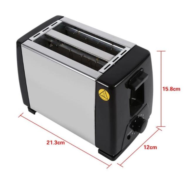 Máy nướng bánh mì 2 ngăn Sokany HJT-016S