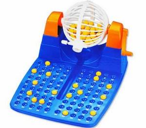 Bộ đồ chơi quay xổ số Bingo Lotto 90 số 48 thẻ