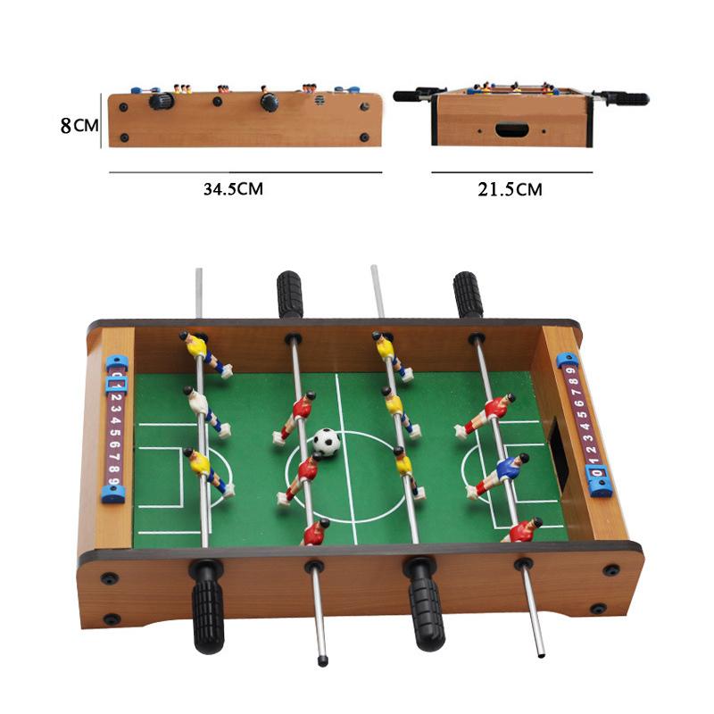 Bộ đồ chơi bàn bi lắc đá bóng bằng gỗ cho bé
