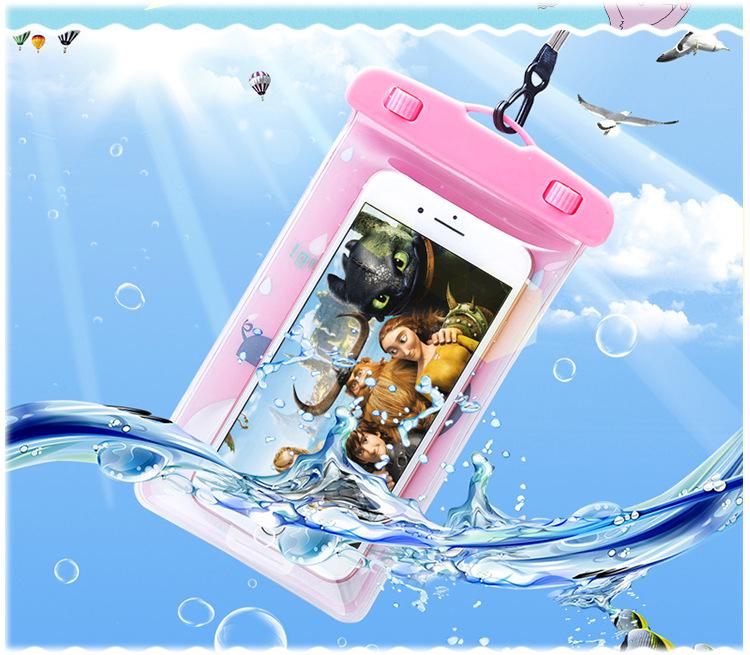 Túi đựng điện thoại chống nước hình thú