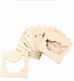 Bộ thẻ vẽ hình cho bé (24 thẻ)