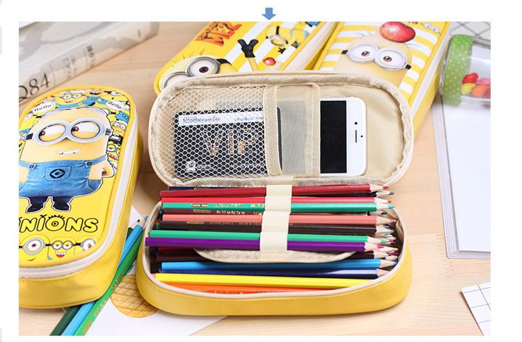 Túi đựng bút hình minion