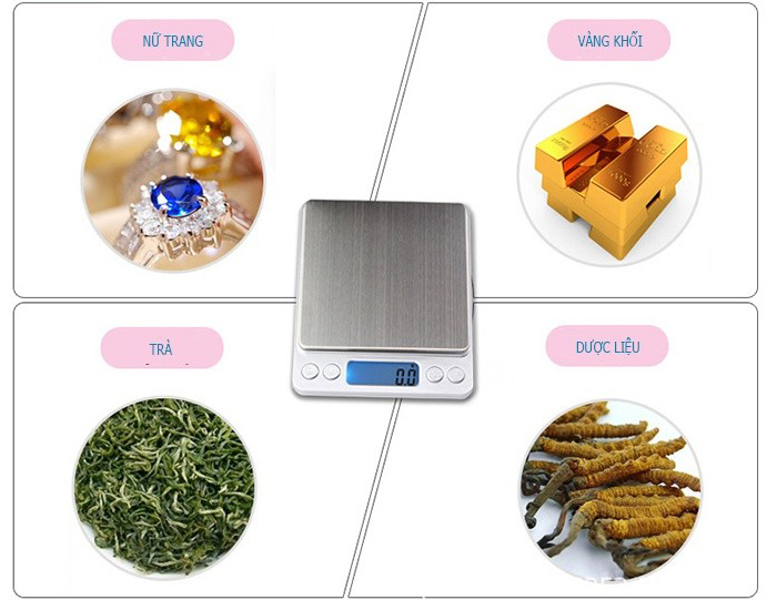 Cân tiểu ly 1 kg