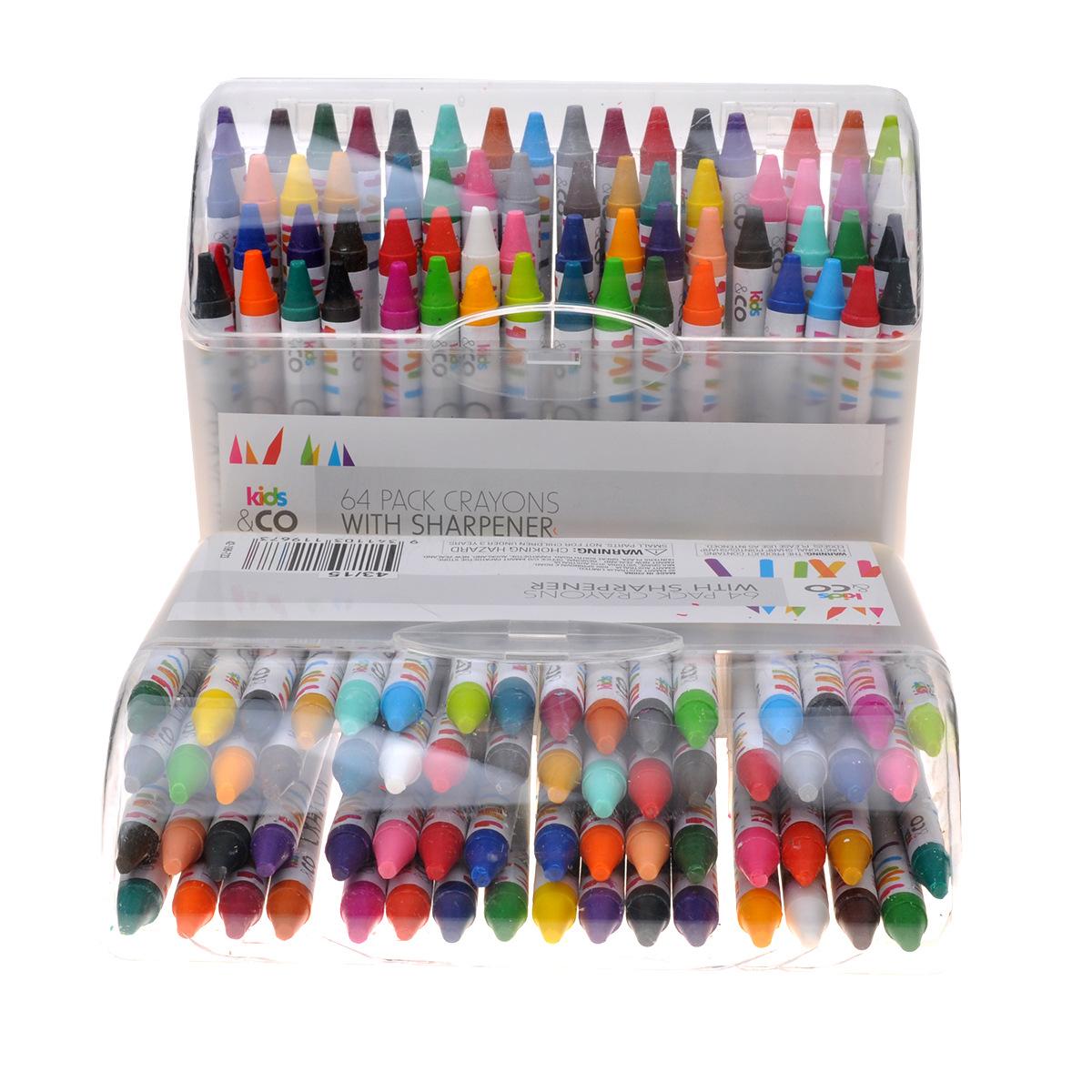 combo 64 bút tô màu cho bé