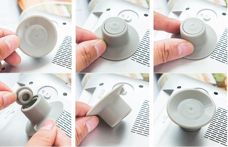 Combo 4 nút cách nhiệt máy tính