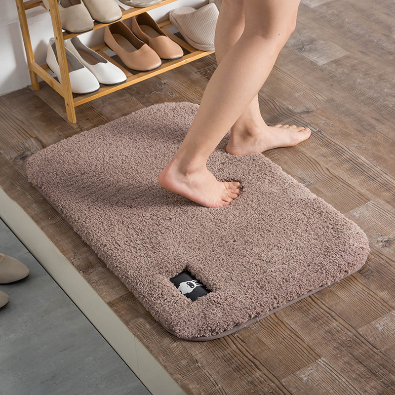 khăn lau chân len sợi nhỏ