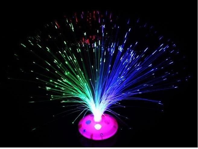 Sợi dây quang hoa phát sáng