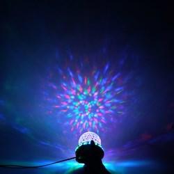 Đèn led tròn xoay vòng