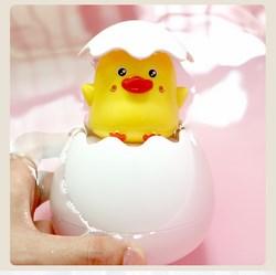 Trứng vịt tự nở khi tắm