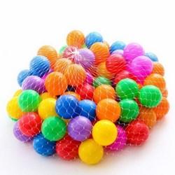 Túi 100 quả bóng nhựa cho bé