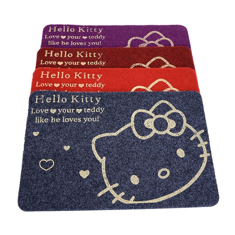 Thảm lau chân mèo Hello kitty