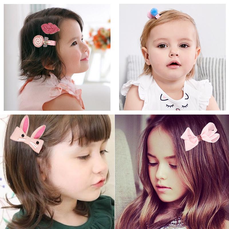 Phụ kiện tóc cho bé 17 chi tiết
