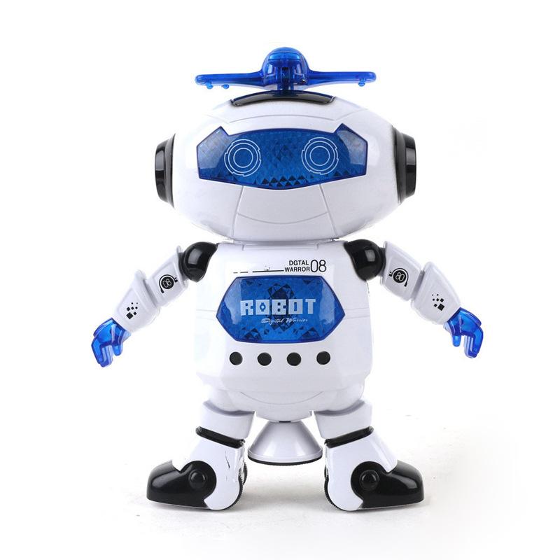 Robot thông minh xoay 360