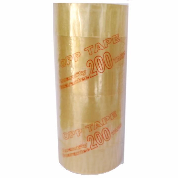 Băng keo dán thùng 200YARD - 6 cuộn 1 cây