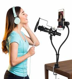 Microphone livestream