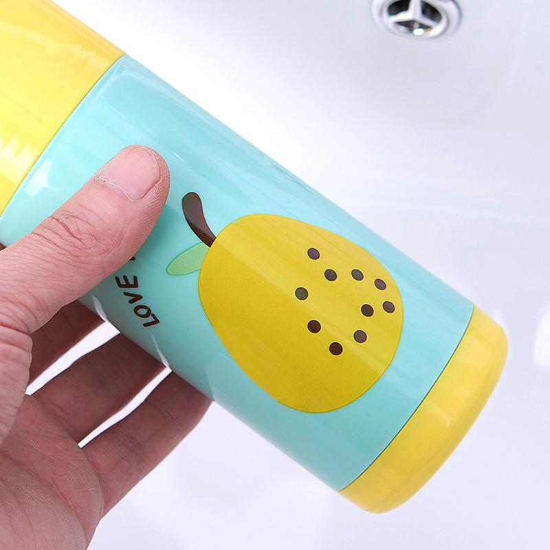 Hộp đựng bàn chải và kem đánh răng hình trái cây