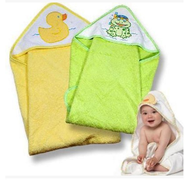 Combo 2 khăn choàng tắm cho bé