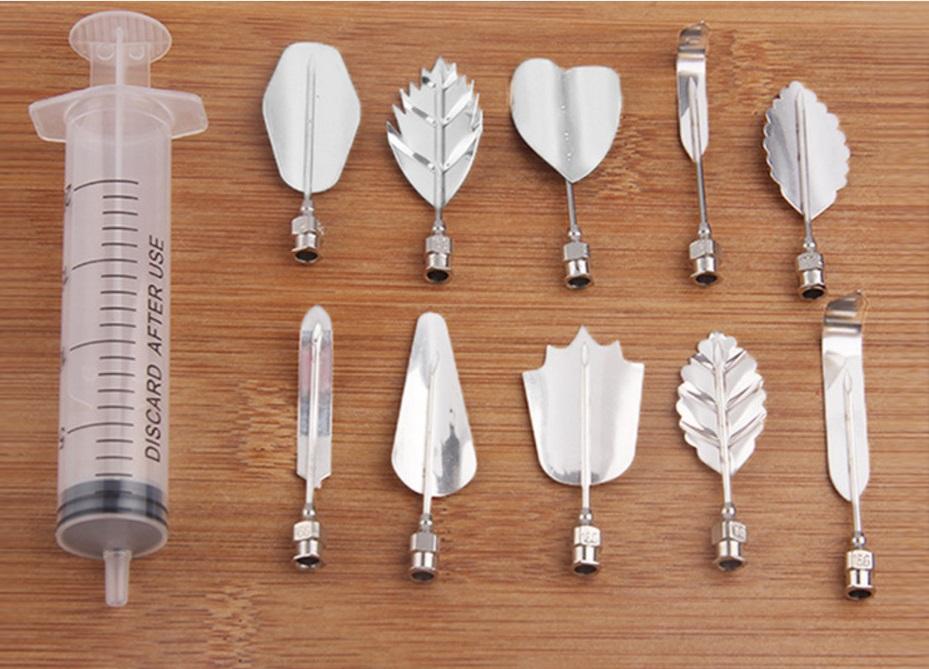 Bộ dụng cụ làm thạch rau câu 3D 10 món