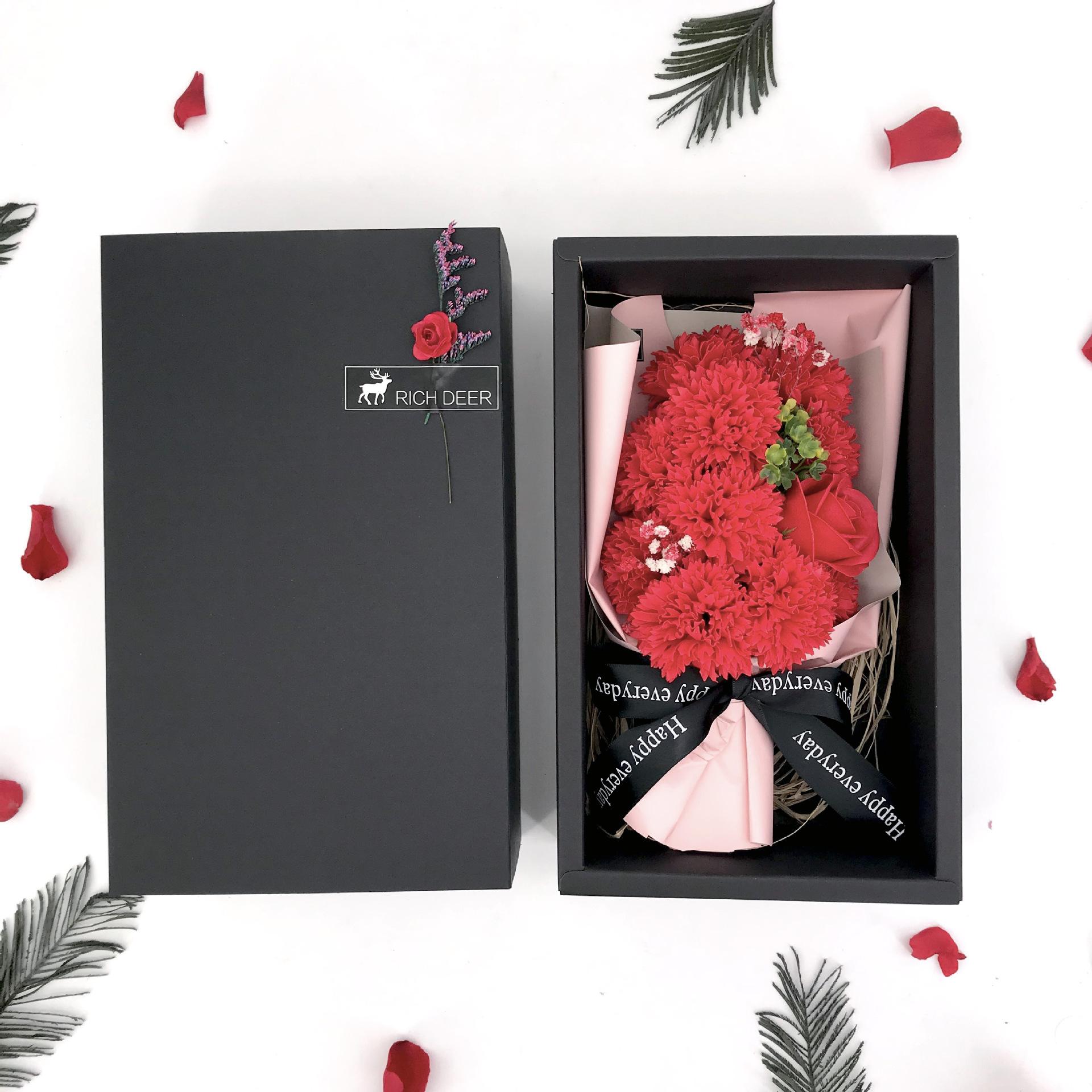 Hộp quà hình chữ nhật 11 hoa