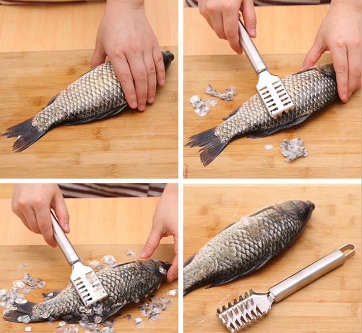 Dụng cụ đánh vảy cá