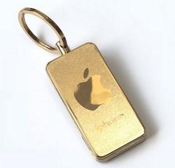 Bật lửa móc khóa hình apple