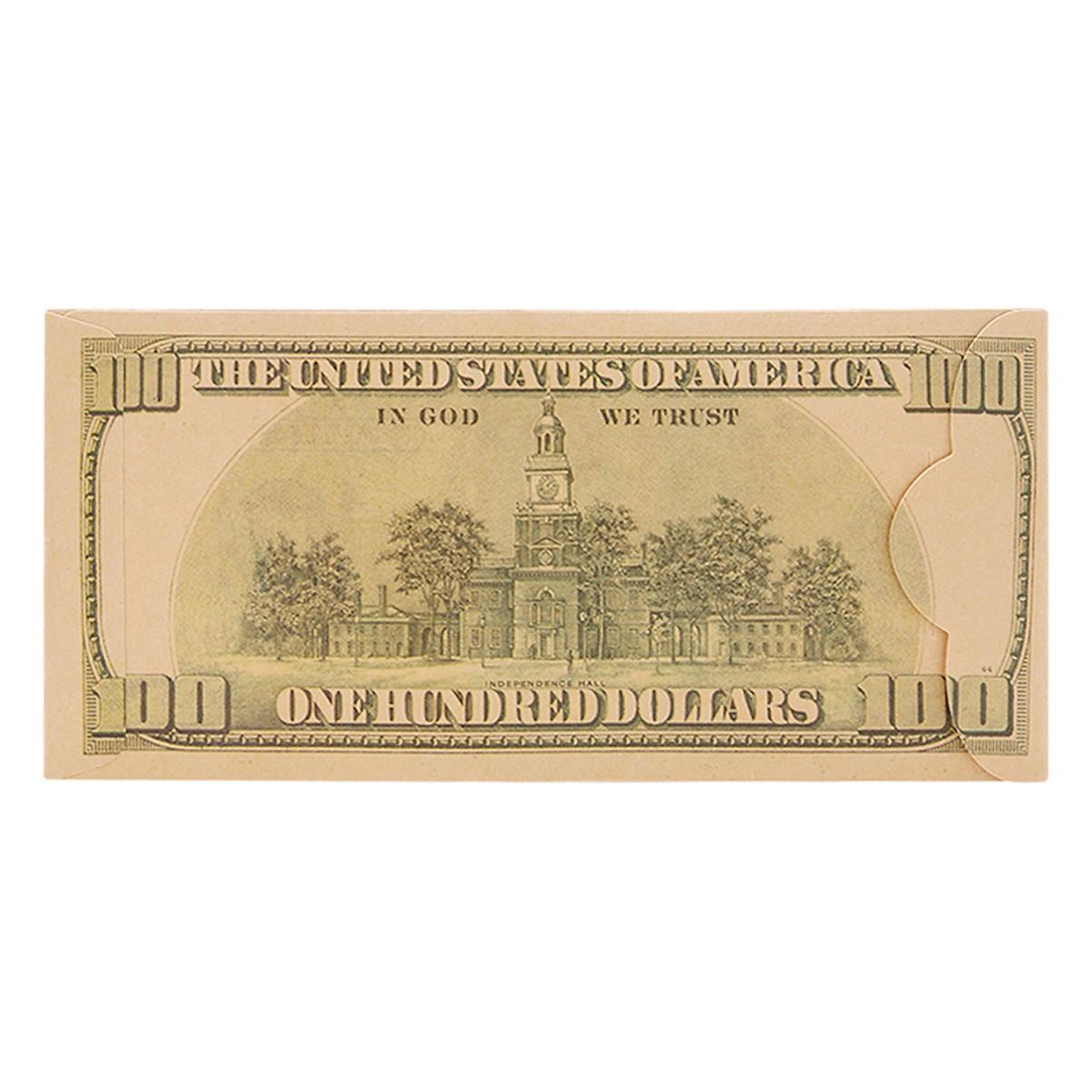 combo 10 bao lì xì 100 đô cao cấp