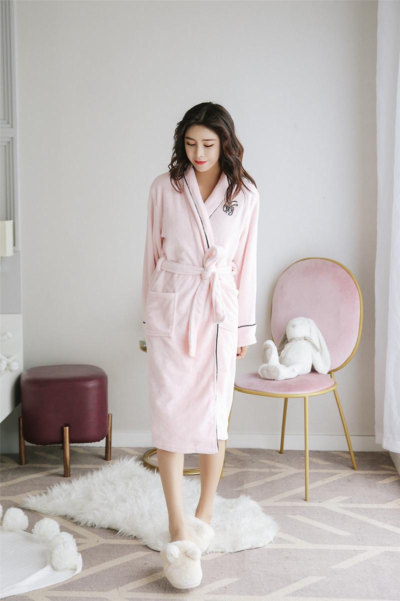Bộ đồ ngủ áo choàng nữ hàn quốc