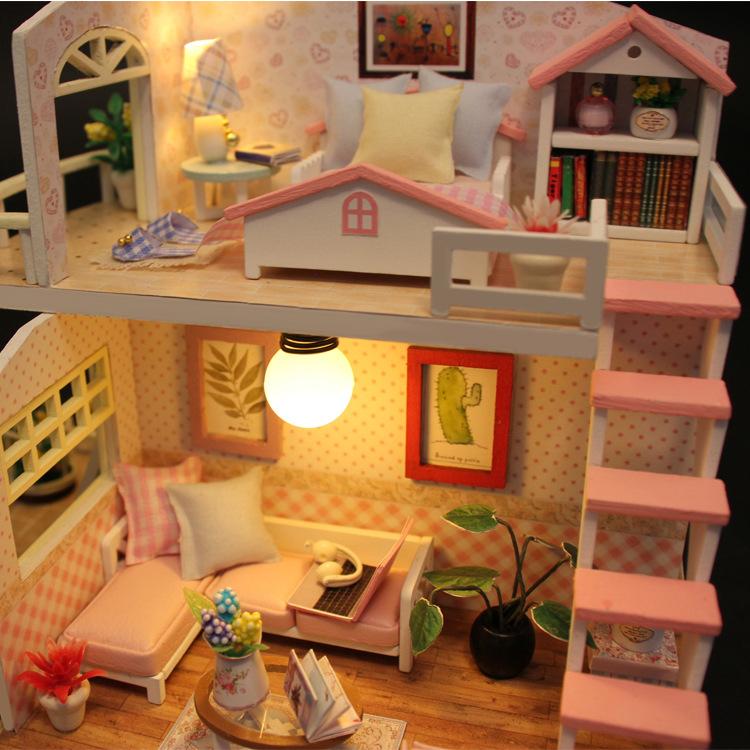 Mô hình nhà gác mái cho bé