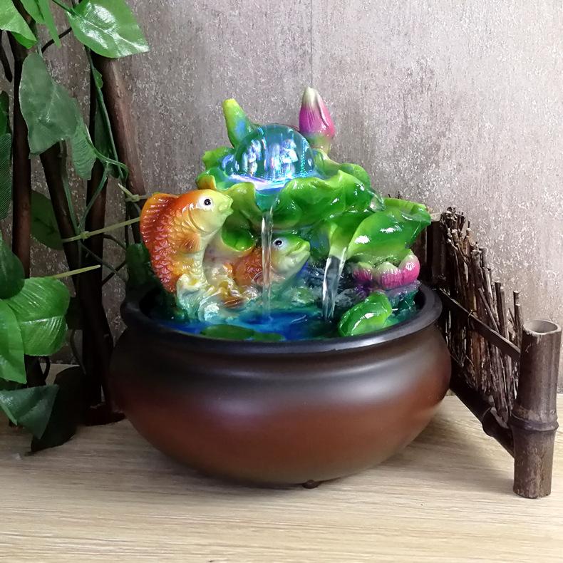 Thác Nước Phong Thủy Hình Cá