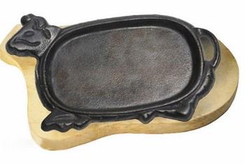 Chảo gang bò bít tết 28cm