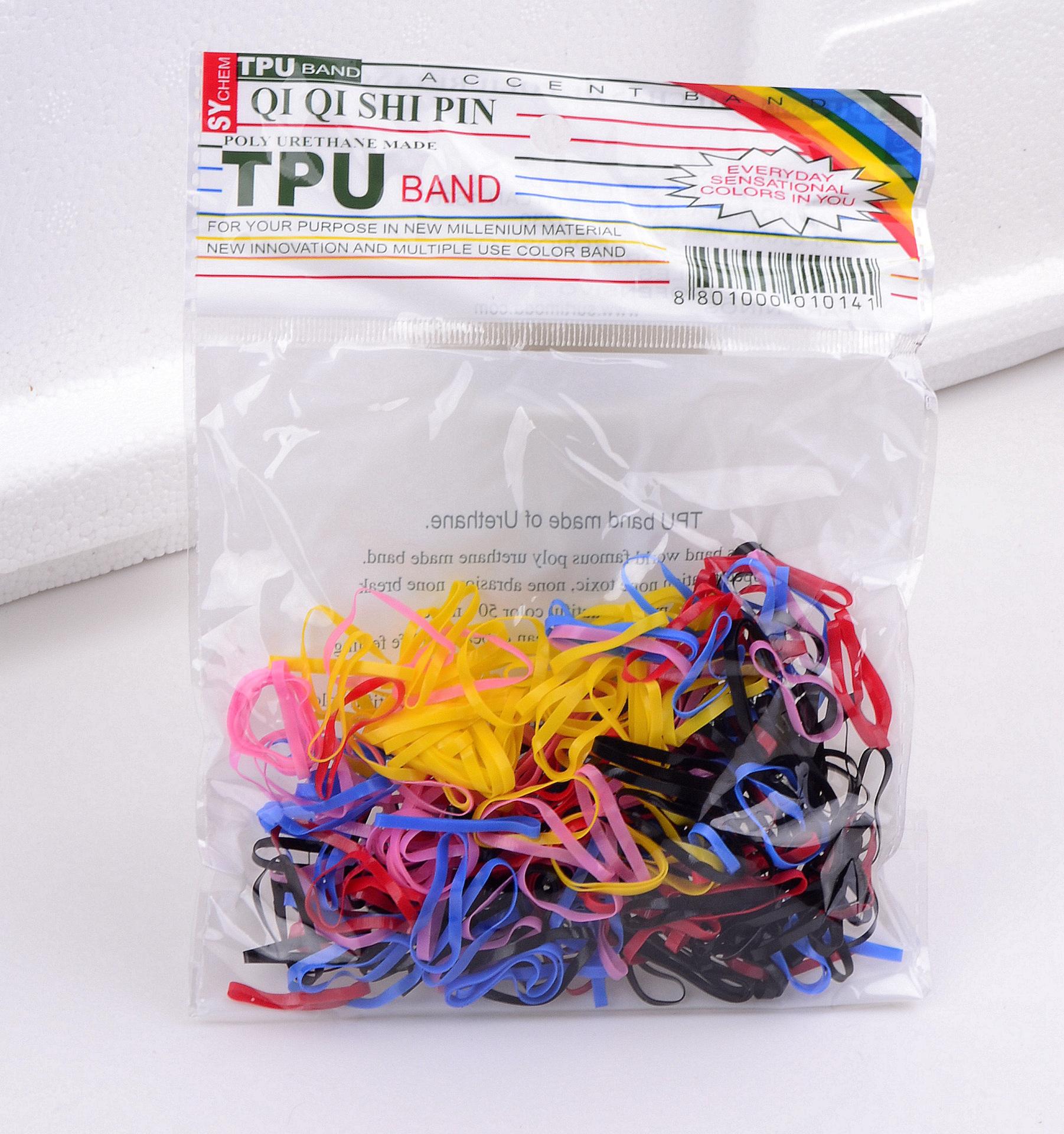 Bộ 300 sợi dây thun cột tóc cho nữ