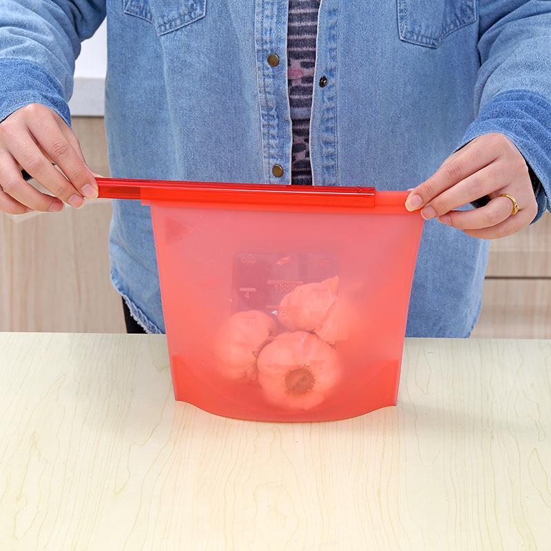 Túi silicon niêm phong thực phẩm