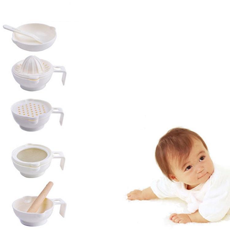 Bộ chế biến thức ăn dặm 7 món cho bé
