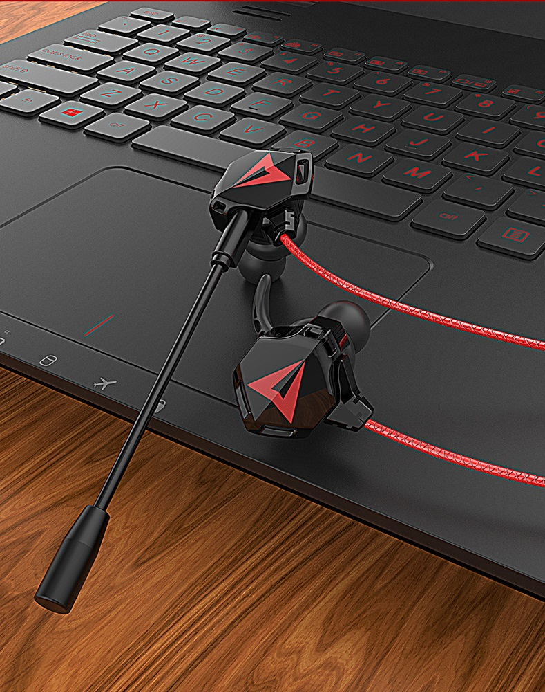 Tai nghe chơi game nhét tai có micro gắn rời